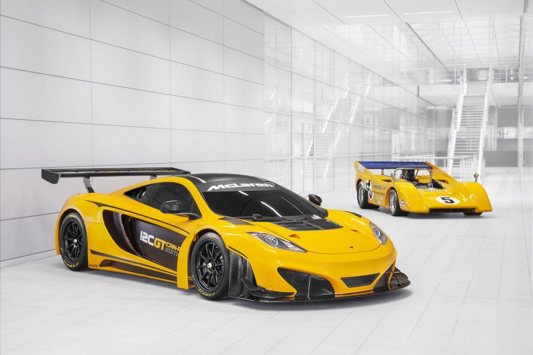 2013 McLaren M8D Can-Am Racer 12C G-T Can-Am Edition supercar supercars racing race q wallpaper