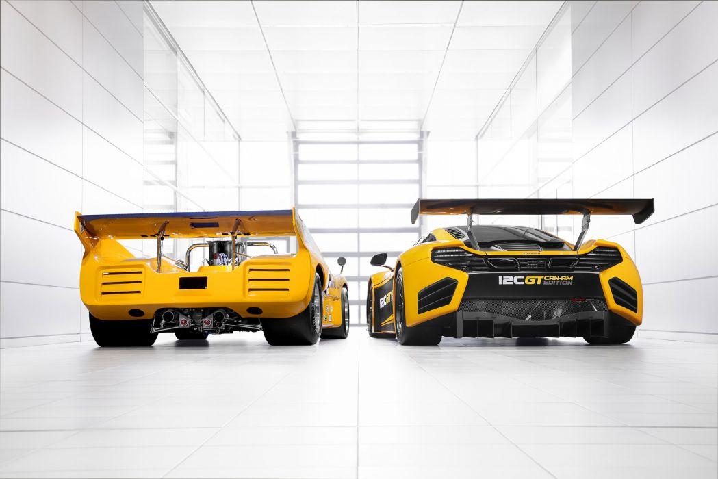 2013 McLaren M8D Can-Am Racer 12C G-T Can-Am Edition supercar supercars racing race w wallpaper