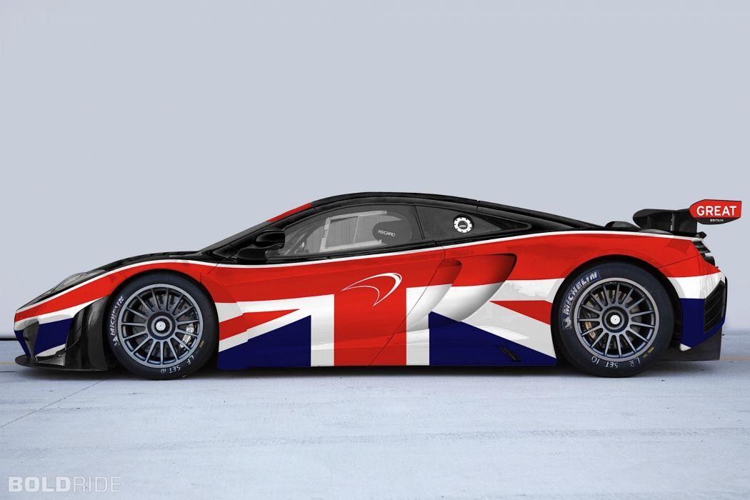 2013 McLaren MP4-12C GT3 supercar supercars q wallpaper