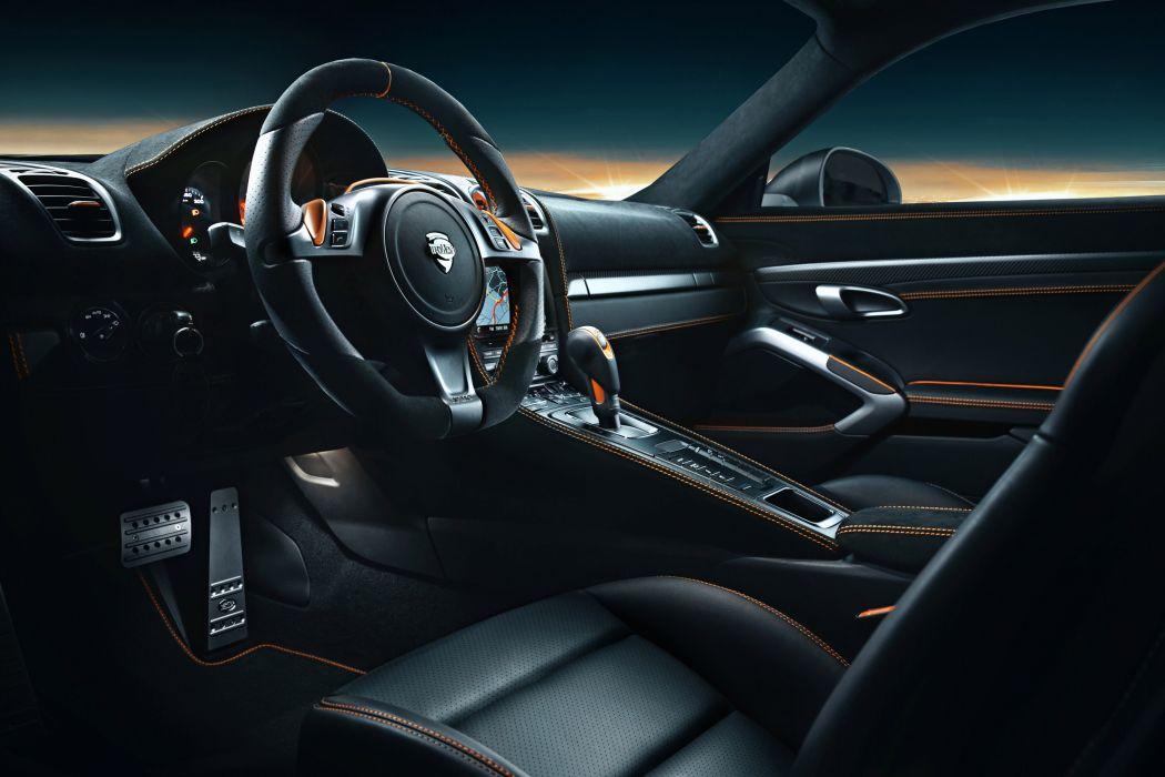 2013 TECHART Porsche Cayman interior wallpaper