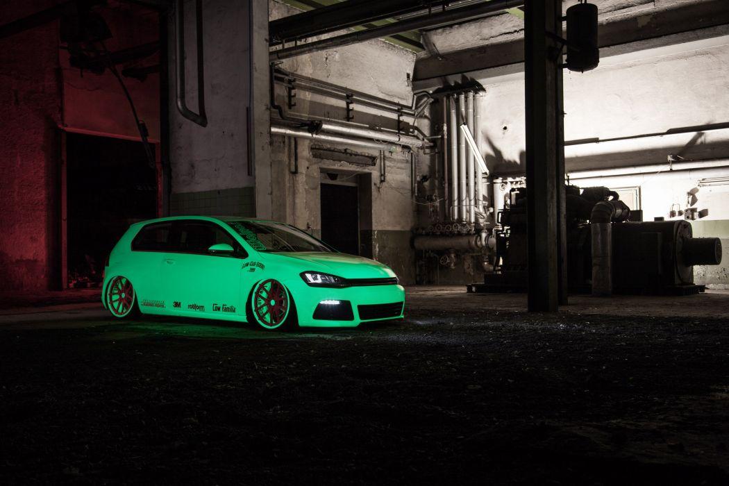 2013 Volkswagen Golf VII Light-Tron tuning c wallpaper