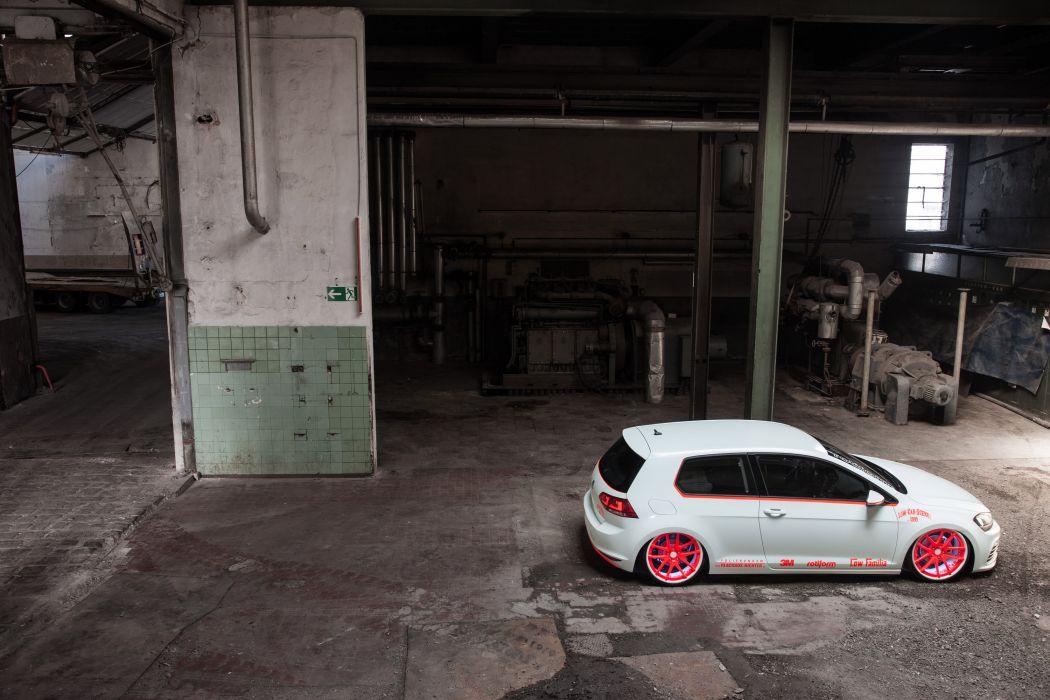 2013 Volkswagen Golf VII Light-Tron tuning d wallpaper