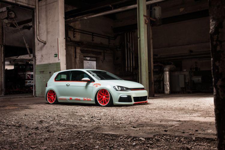 2013 Volkswagen Golf VII Light-Tron tuning e wallpaper