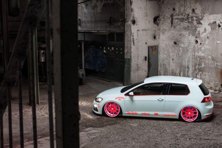 2013 Volkswagen Golf VII Light-Tron tuning x wallpaper