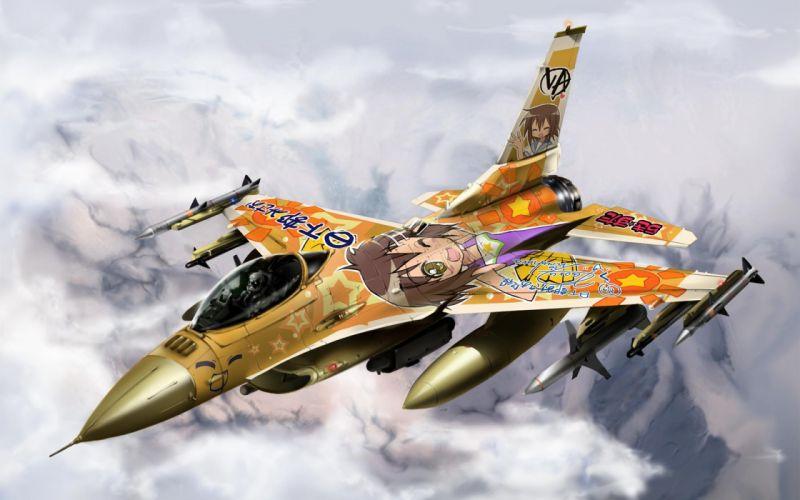 lucky star jet jets aircrafts airplane aircraft wallpaper