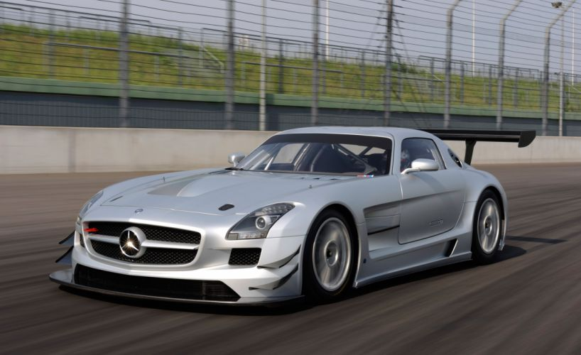 2011 Mercedes Benz SLS AMG GT3 race racing supercar supercars g wallpaper