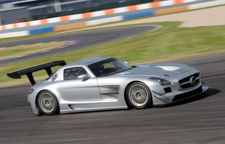 2011 Mercedes Benz SLS AMG GT3 race racing supercar supercars n wallpaper