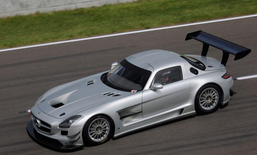 2011 Mercedes Benz SLS AMG GT3 race racing supercar supercars t wallpaper