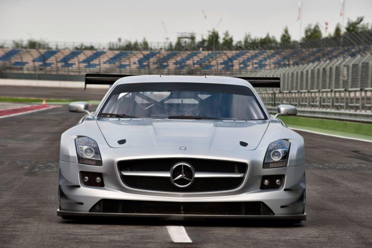 2011 Mercedes Benz SLS AMG GT3 race racing supercar supercars wallpaper