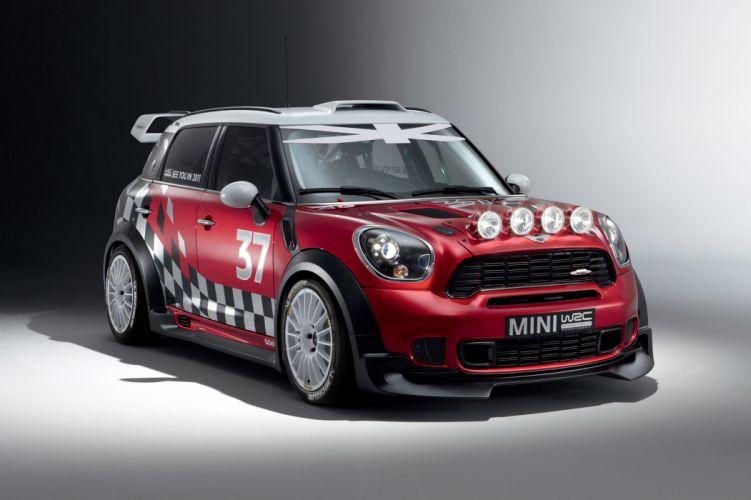 2011 MINI Countryman WRC race racing w wallpaper