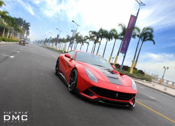 2013 DMC Ferrari F12 SPIA supercars supercar q wallpaper