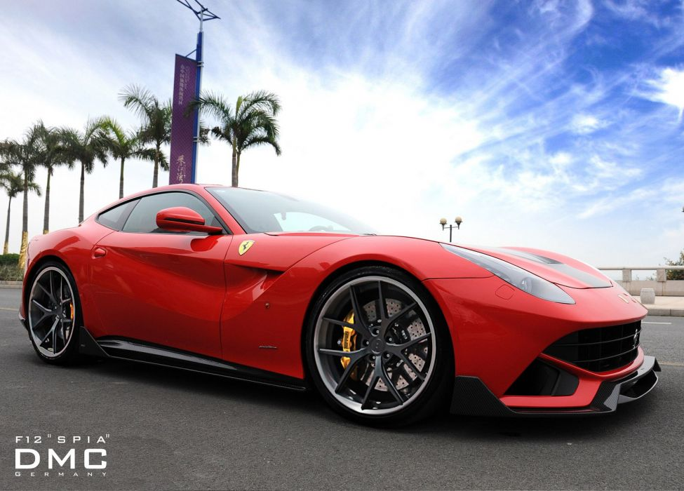 2013 DMC Ferrari F12 SPIA supercars supercar r wallpaper