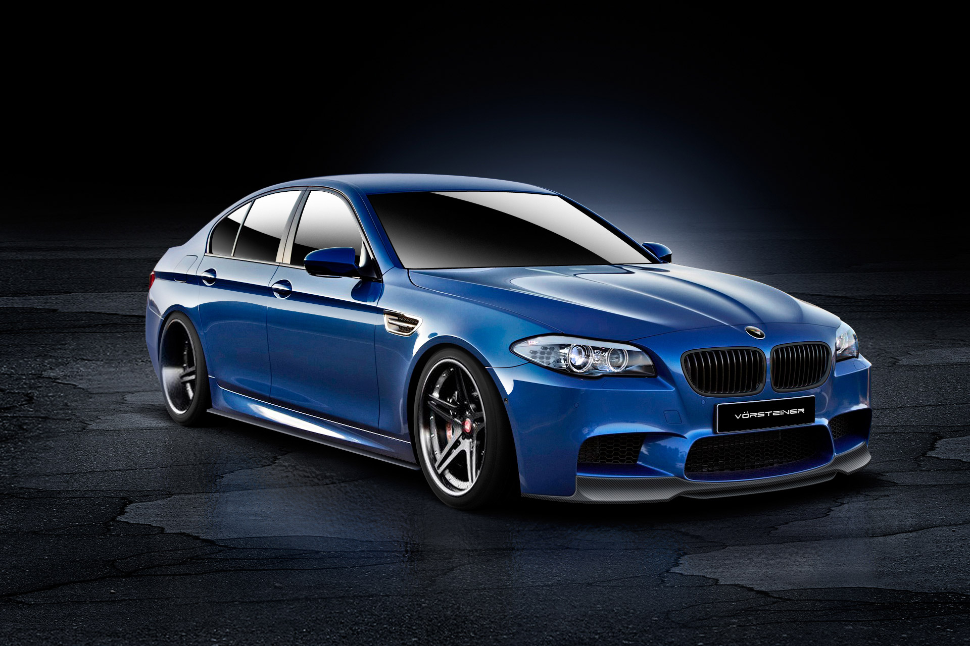 2013 Vorsteiner Bmw M5 Sedan Tuning Wallpaper 1920x1280