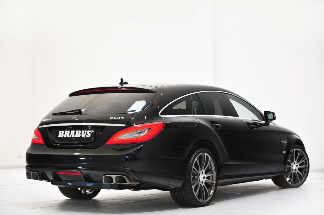 2013 BRABUS B63S 730 Mercedes Benz CLS tuning q wallpaper