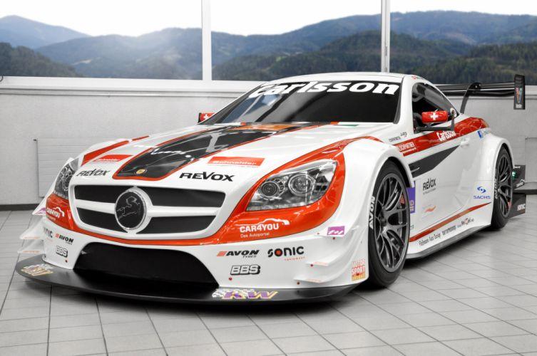 2013 Carlsson Mercedes Benz SLK Race racing tuning e wallpaper