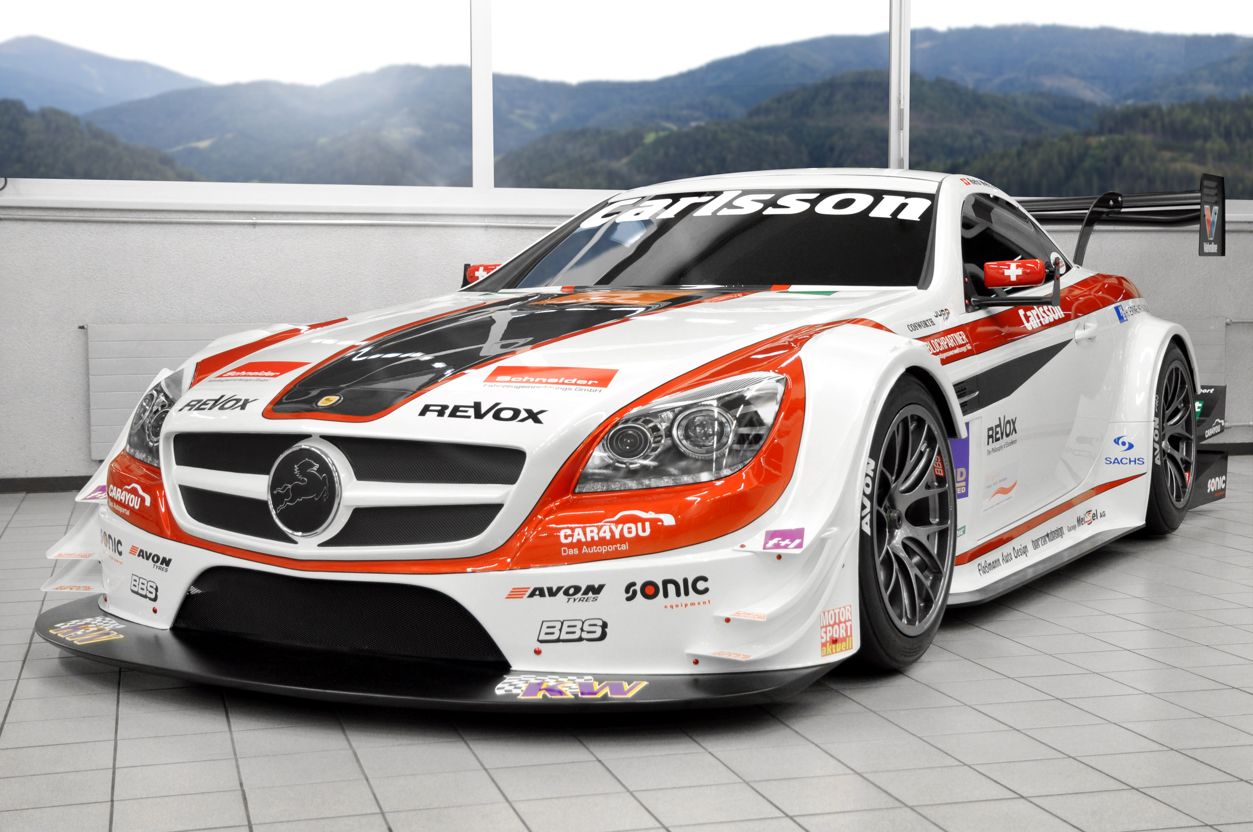 2013 carlsson mercedes benz slk race racing tuning e for Mercedes benz race