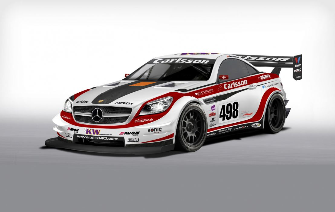 2013 Carlsson Mercedes Benz SLK Race racing tuning wallpaper