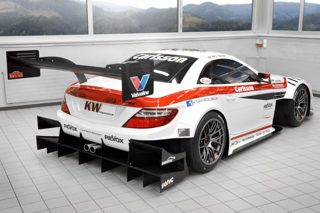 2013 Carlsson Mercedes Benz SLK Race racing tuning y wallpaper