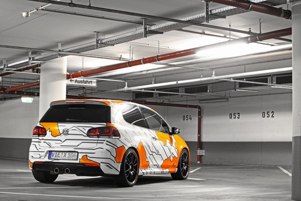2012 Cam Shaft Volkswagen Golf VI-R tuning o wallpaper
