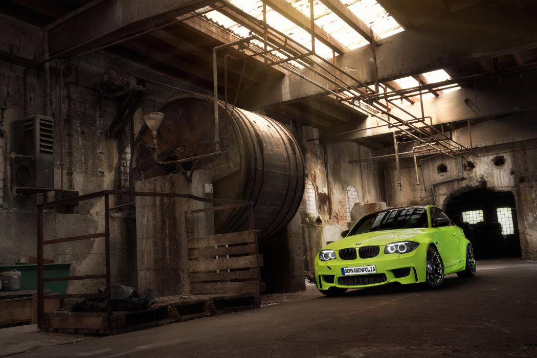 2012 Schwabenfolia BMW 1M-Coupe coupe tuning q wallpaper