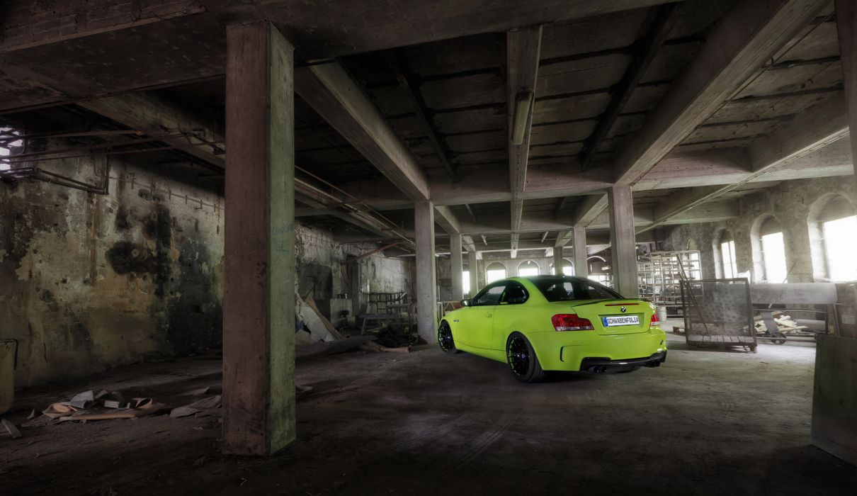 2012 Schwabenfolia BMW 1M-Coupe coupe tuning t wallpaper