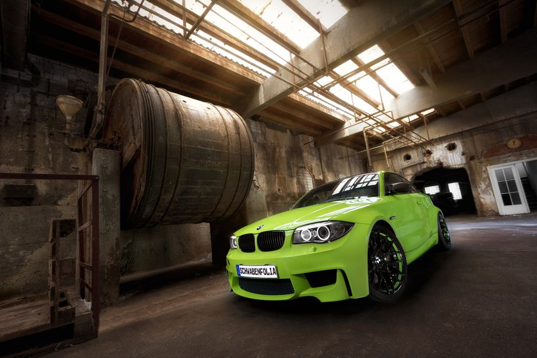 2012 Schwabenfolia BMW 1M-Coupe coupe tuning w wallpaper