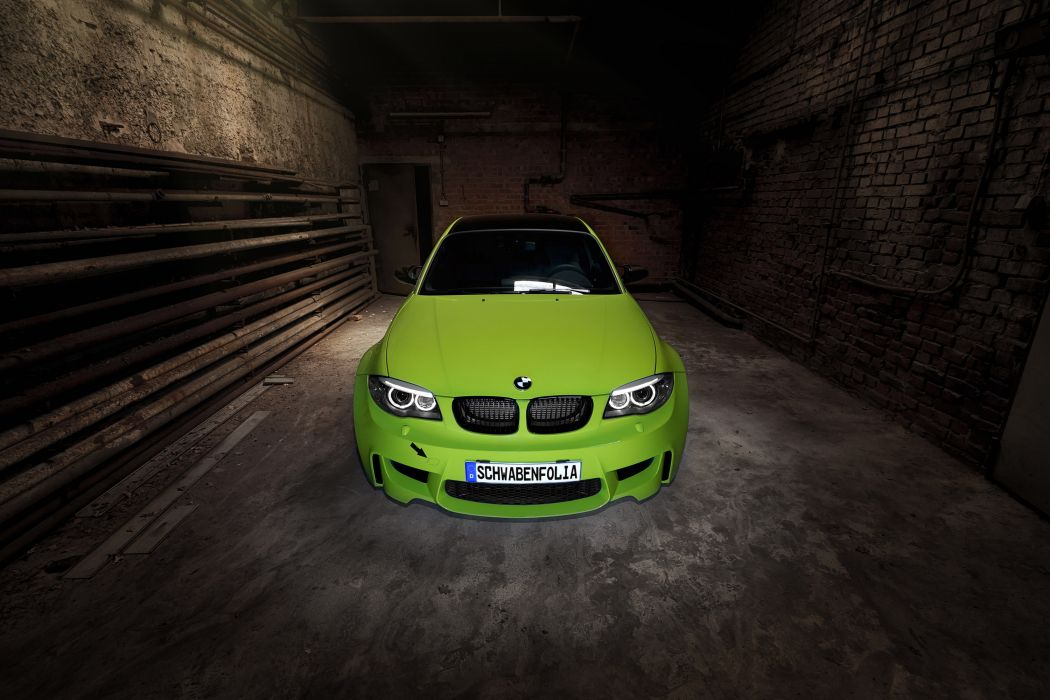 2012 Schwabenfolia BMW 1M-Coupe coupe tuning wallpaper