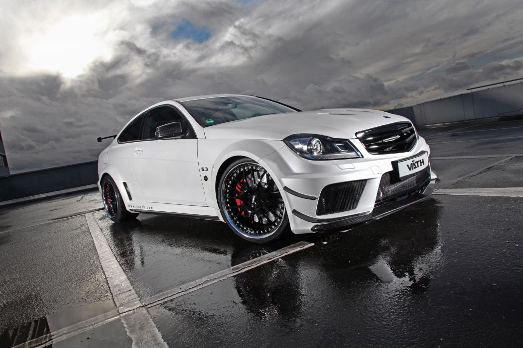 2012 VATH Mercedes Benz V-63 Coupe Supercharged tuning e wallpaper