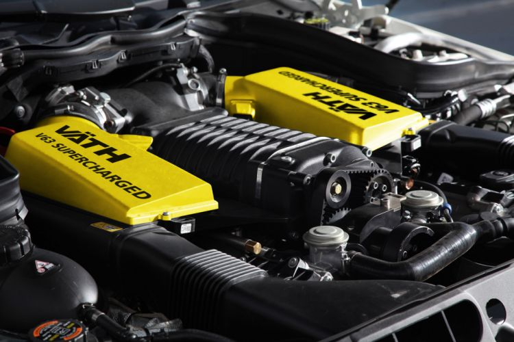 2012 VATH Mercedes Benz V-63 Coupe Supercharged tuning engine engines wallpaper