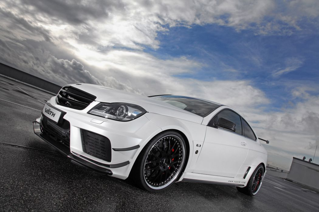 2012 VATH Mercedes Benz V-63 Coupe Supercharged tuning w wallpaper