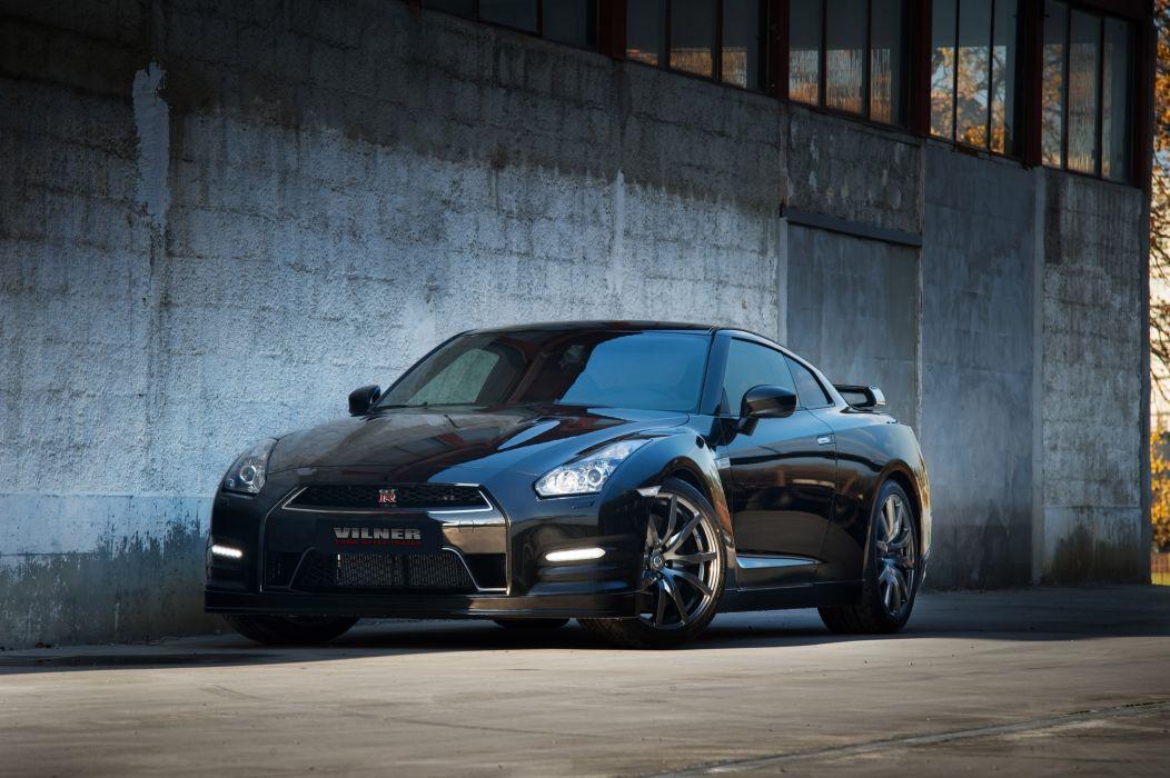 2012 Vilner Nissan GT-R tuning wallpaper