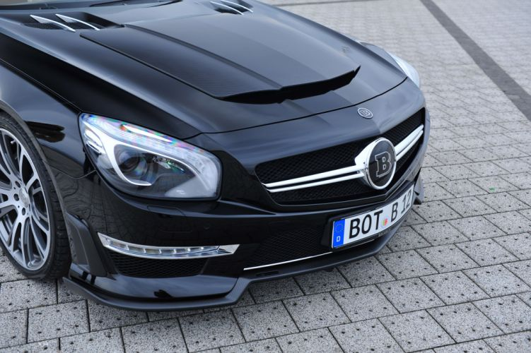 2013 Brabus 800 Mercedes Benz Roadster tuning f wallpaper