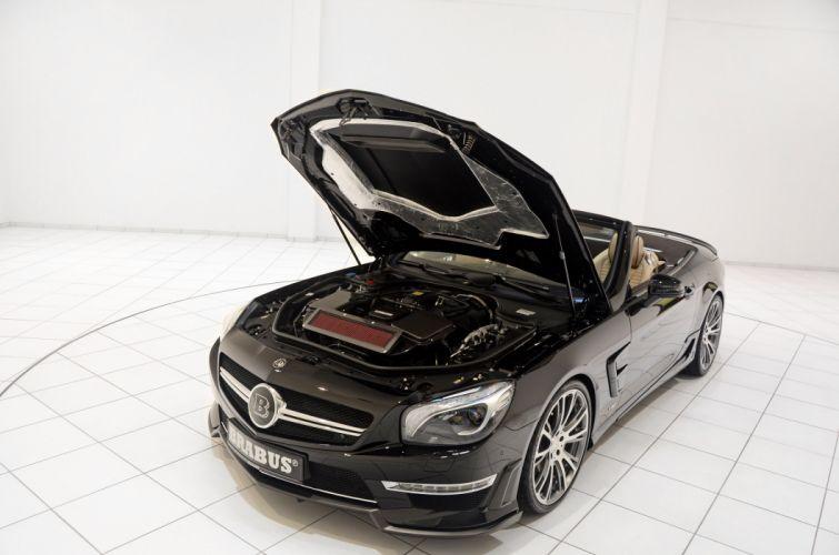 2013 Brabus 800 Mercedes Benz Roadster tuning engines engine wallpaper