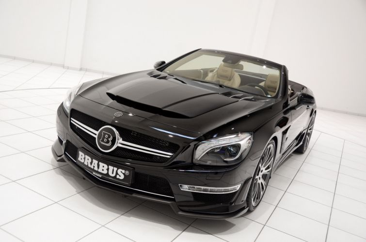 2013 Brabus 800 Mercedes Benz Roadster tuning r wallpaper