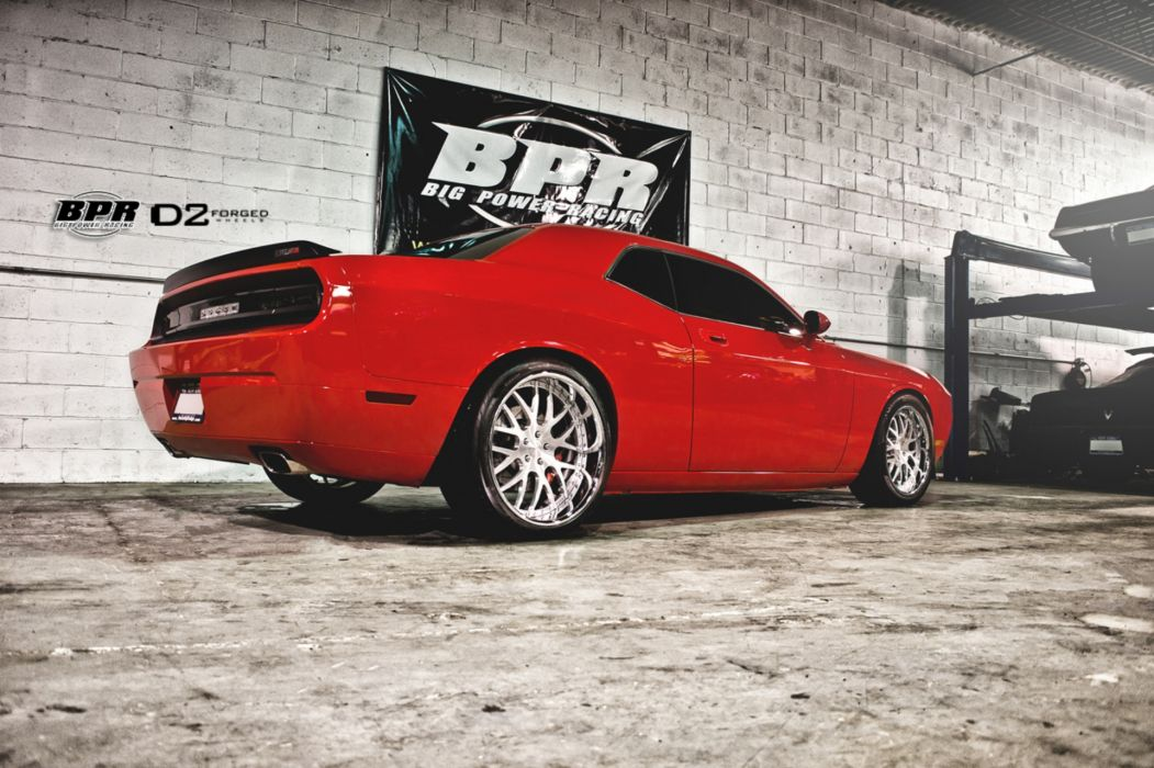 2012 D2Forged Dodge Challenger SRT8 tuning muscle hot rod rods e wallpaper