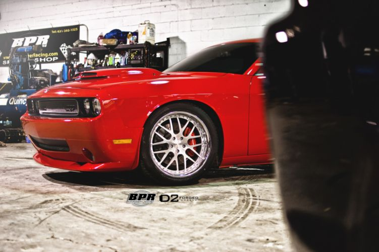 2012 D2Forged Dodge Challenger SRT8 tuning muscle hot rod rods wheel wheels wallpaper