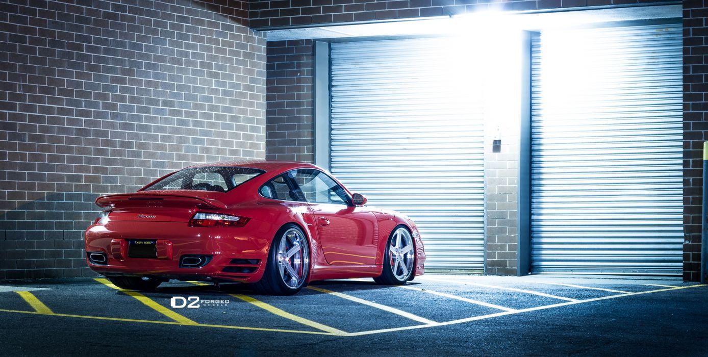 2012 D2Forged Porsche 997 Turbo CV2 tuning supercar supercars s wallpaper