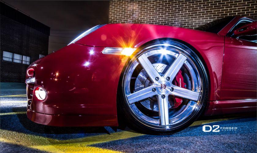 2012 D2Forged Porsche 997 Turbo CV2 tuning supercar supercars wheel wheels a wallpaper