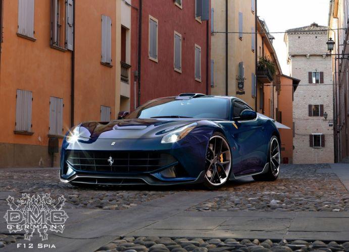 2013 DMC Ferrari F12 Berlinetta SPIA supercars supercar tuning q wallpaper
