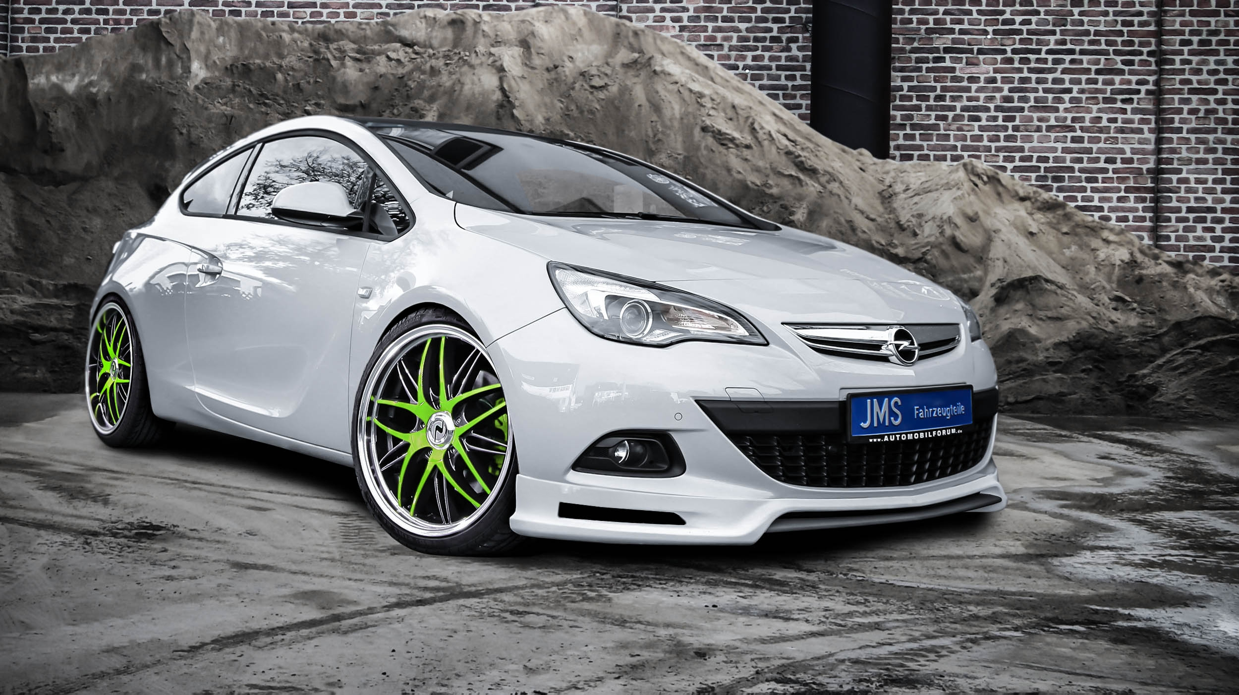2013 Jms Opel Astra J Gtc Coupe Tuning Wallpaper 2500x1402 82131 Wallpaperup