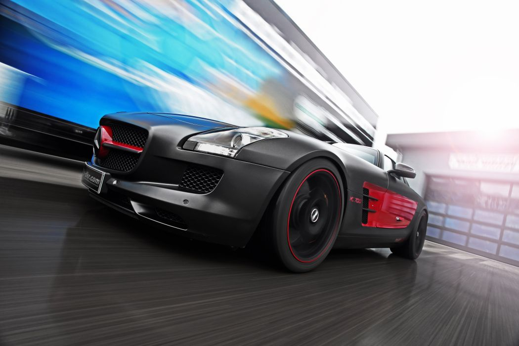 2013 Mcchip-Dkr Mercedes Benz SLS 63 AMG MC700 tuning q wallpaper