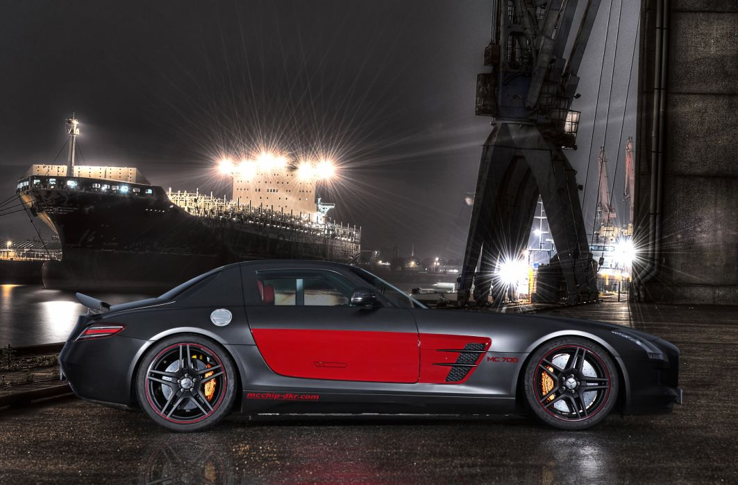 2013 Mcchip-Dkr Mercedes Benz SLS 63 AMG MC700 tuning w wallpaper