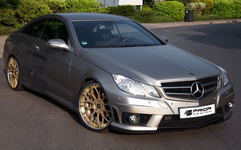 2013 Prior Design Mercedes Benz E-Class C207 tuning e wallpaper