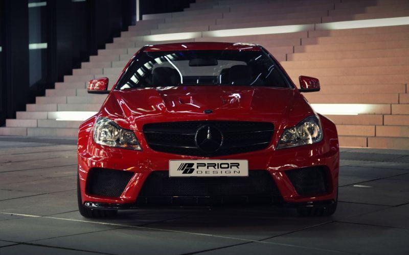 2013 Prior Design Mercedes-Benz C-Class tuning q wallpaper