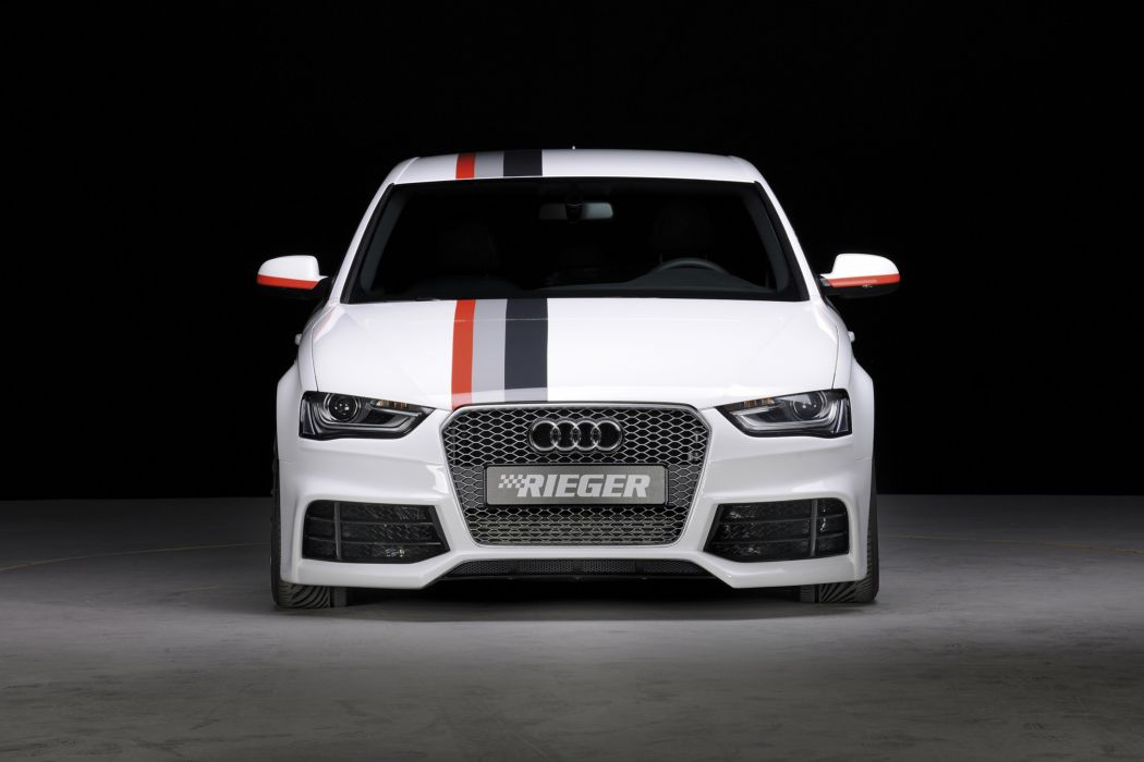 2013 Rieger Audi A4 B8 tuning e wallpaper