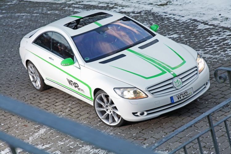 2013 Wrap Works Mercedes Benz CL-500 tuning t wallpaper