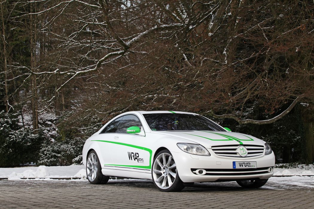 2013 Wrap Works Mercedes Benz CL-500 tuning w wallpaper