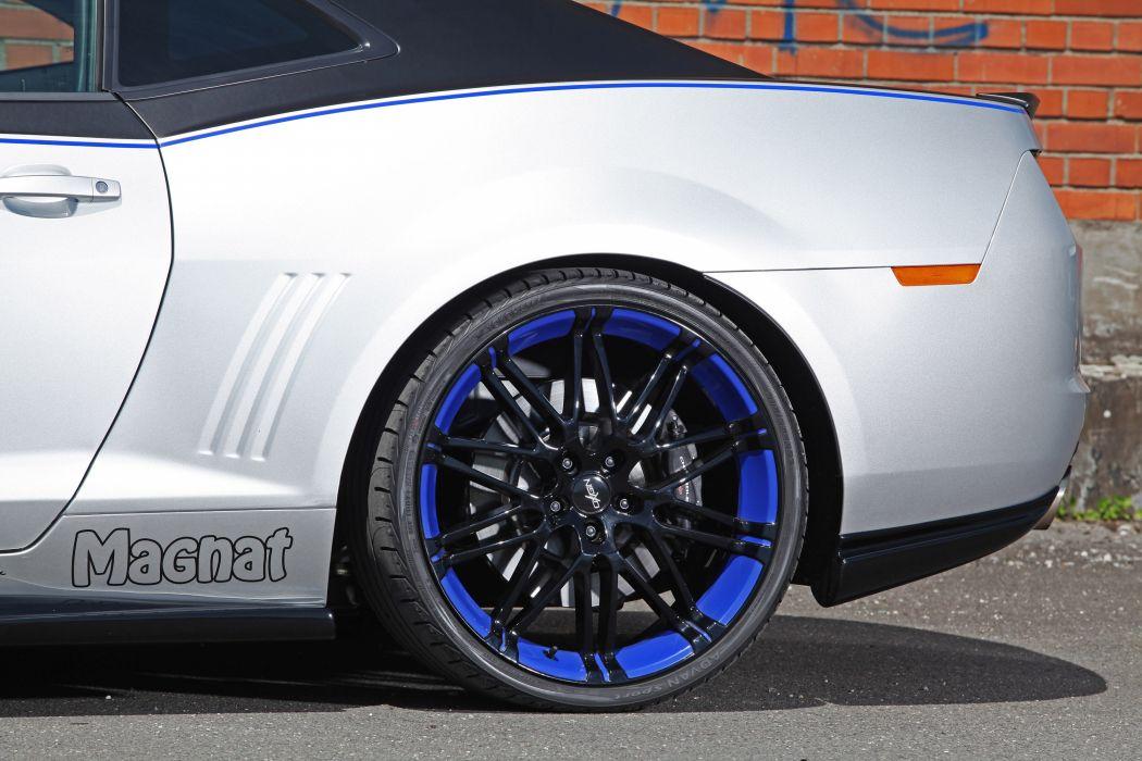 2012 Magnat Chevrolet Camaro Audio tuning muscle wheel wheels wallpaper