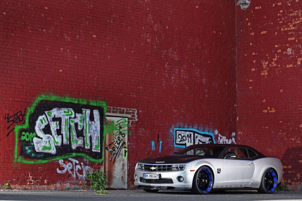 2012 Magnat Chevrolet Camaro Audio tuning muscle y wallpaper