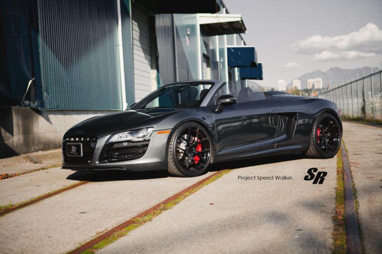 2012 SR-Auto Audi R-8 Spyder tuning e wallpaper